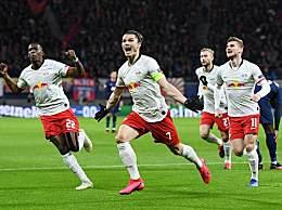 热刺0比3莱比锡 总比分莱比锡4-0热刺晋级欧冠8强