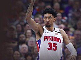 NBA第三例新冠确诊 活塞伍德确诊感染新冠