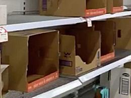 英国居民争相抢购厕纸 疫情引发英国国内恐慌性购买热潮