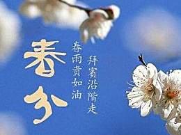 关于春分的优美句子诗句 春分节气谚语顺口溜
