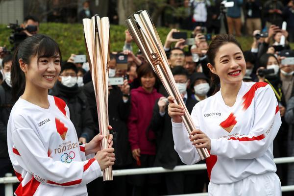 奥运火炬传递取消 奥运圣火将留在日本