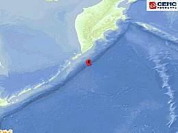 千岛群岛发生7.5级地震 震源深度30千米