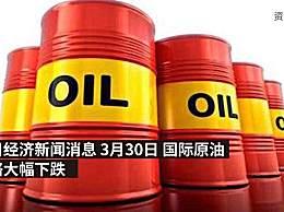国际原油跌破20美元