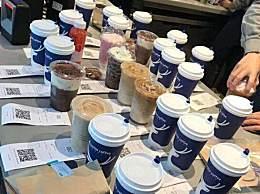 瑞幸咖啡门店爆单