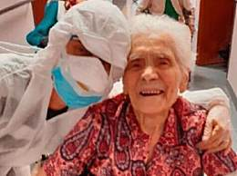 104岁新冠患者治愈 全球年龄最大治愈者