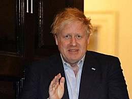 英国首相约翰逊高烧已退