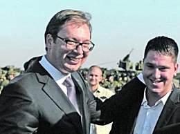 塞尔维亚总统儿子感染新冠病毒 已住院治疗并获父亲鼓励