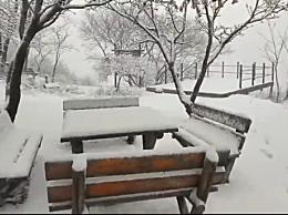 山东多地降雪 气温会呈阶梯式下降