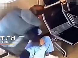 广州医院一男患者殴打女护士