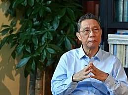 钟南山:新冠肺炎还没有特效药