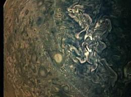 超清晰木星照发布快