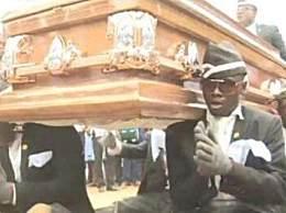 黑人抬棺是怎么回事
