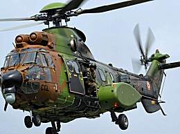 法国一架军用直升机坠毁