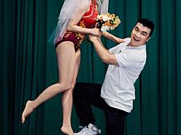 何雯娜梁超奥运婚纱照