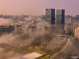 厦门平流雾宛若人间仙境 平流雾是什么意思形成原因