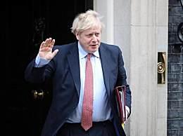 英国首相返回首相府