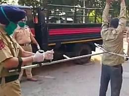 印度警察抓人神器