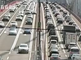 虎门大桥异常抖动现场照片 虎门大桥抖动原因是什么