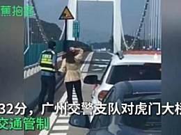 虎门大桥晃动原因是什么