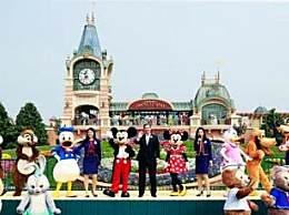 上海迪士尼开放