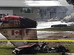 加拿大飞行表演队一飞机坠毁 一名飞行员死亡一人重伤