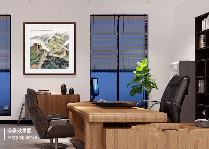 如何选择办公室挂画?为您推荐几款老板们喜欢的国画