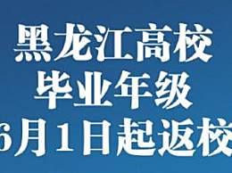 黑龙江高校返校时间