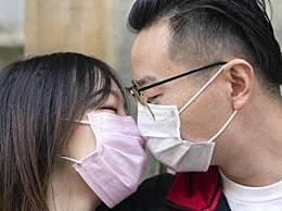 新人民政局领证后口罩吻