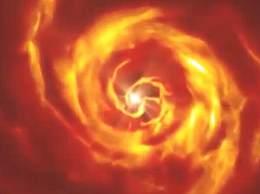 天文学家首次拍到行星诞生过程
