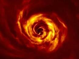 拍到行星诞生过程