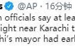 巴基斯坦坠机至少2人生还