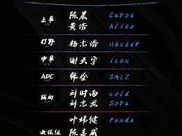 LPL夏季赛OMG阵容名单
