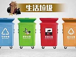 建议垃圾分类标准全国统一