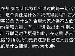 窦靖童谈网络暴力