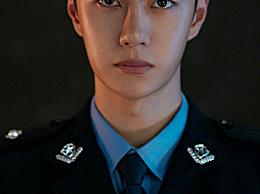 王一博《冰雨火》警服造型 英俊挺拔阳光帅气一身正气