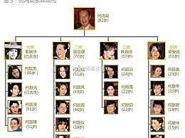 赌王的17个子女介绍