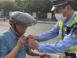 骑摩托车不戴头盔如何处罚