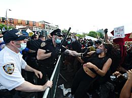 数十个美国城市爆发示威