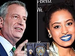 纽约市长女儿参加抗议被捕