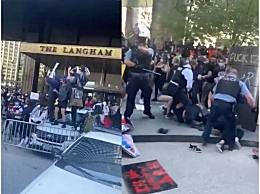 特朗普大厦被占领