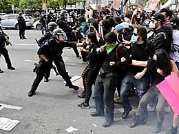 美国华盛顿全市宵禁 5000国民警卫队队员已部署全美