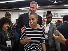 纽约市长女儿参加抗议被捕 因在街上阻碍交通拒绝离开