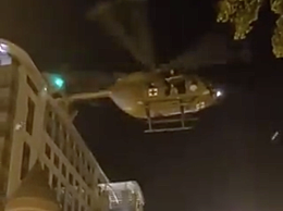 华盛顿上空现直升机