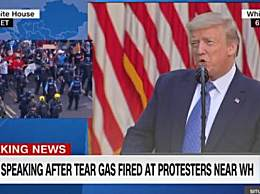特朗普将动用军队结束骚乱