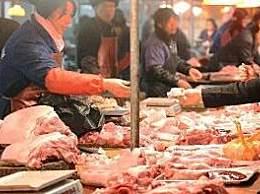 全国猪肉零售均价每公斤下降13元
