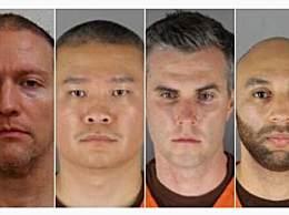 黑人之死涉事4名警察被拘留