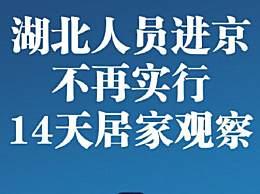 北京应急响应下调为三级