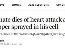 又一名为弗洛伊德的黑人死亡