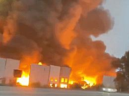 加州亚马逊仓库大火