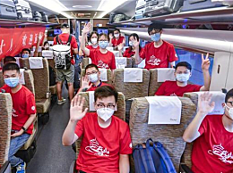 首批湖北籍大学生搭高铁返京